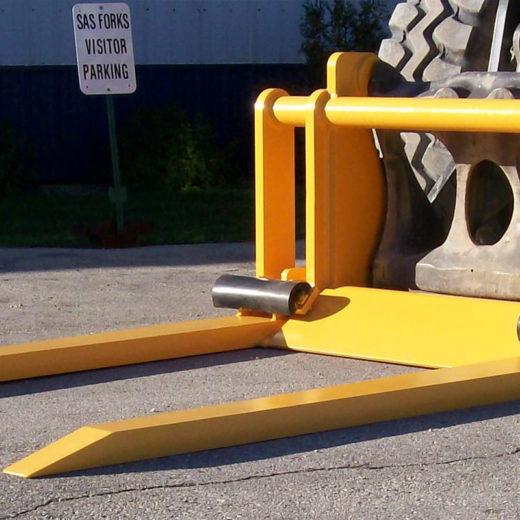 Forklift Salvage Yard Side Car Body Forks - SAS Forks