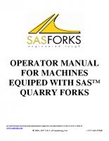 Quarry Forks Safety Manual