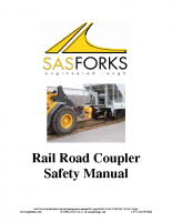 Railroad Coupler Safety Manual