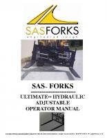 Ultimate Adjustable Forks
